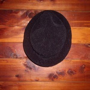 Accessories - black womens hat